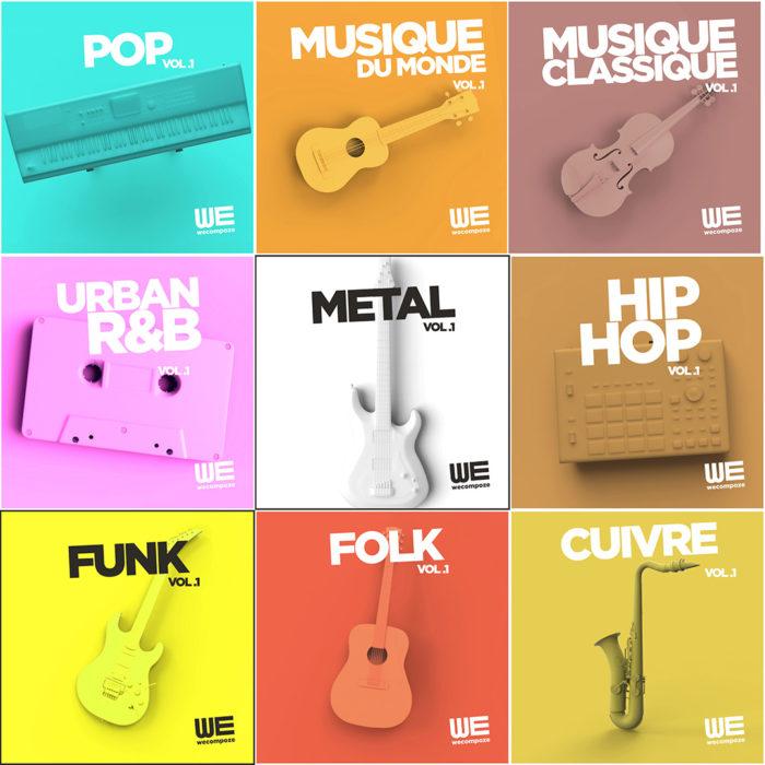 Appel à projet - Musique catalogue - We Compoze