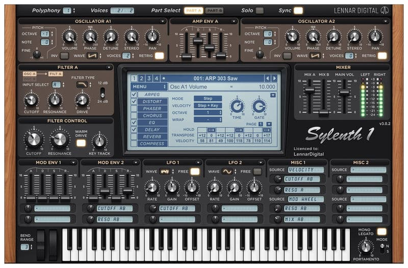 Plugin, Synth, VST, Sylenth1, Modulaire, Synthèse additive