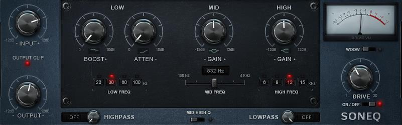 Soniums son EQ - Plugin EQ - TOP10 - Classement - WE COMPOZE