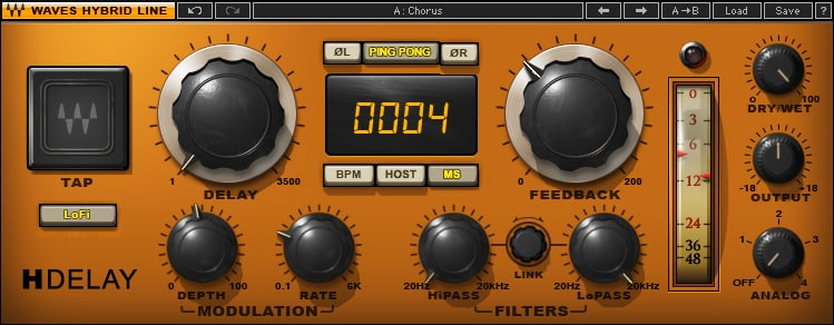 Waves H Delay - Plugin Reverb/Delay - TOP10 - Classement - WE COMPOZE