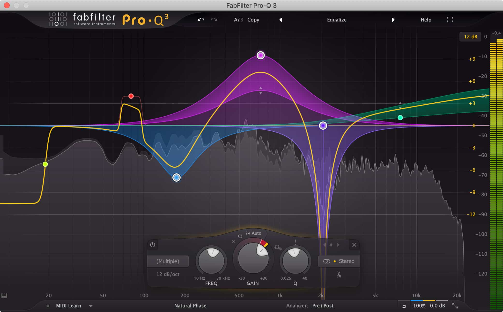 Fabfilter Pro Q 3 - Plugin EQ - TOP10 - Classement - WE COMPOZE