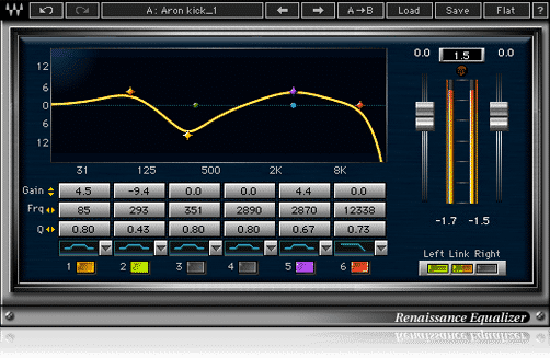 Renaissance Equalizer - Plugin EQ - TOP10 - Classement - WE COMPOZE