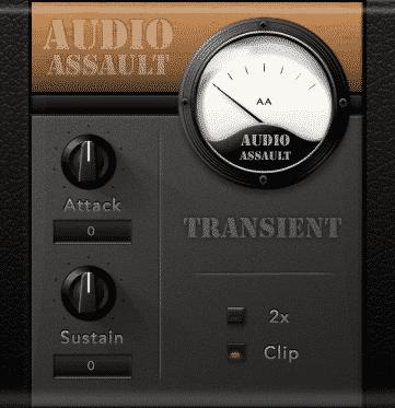 Audio Assault Transient - Plugin Échantillonneurs - TOP10 - Classement - WE COMPOZE