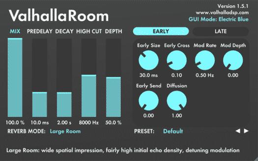Valhalla Room - Plugin Reverb/Delay - TOP10 - Classement - WE COMPOZE