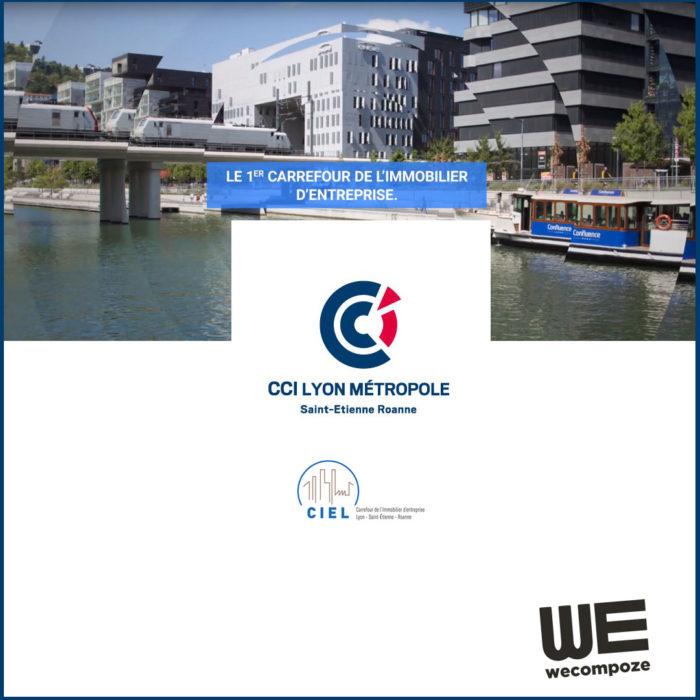 CCI - carrefour de l'immobilier de Lyon - WE COMPOZE