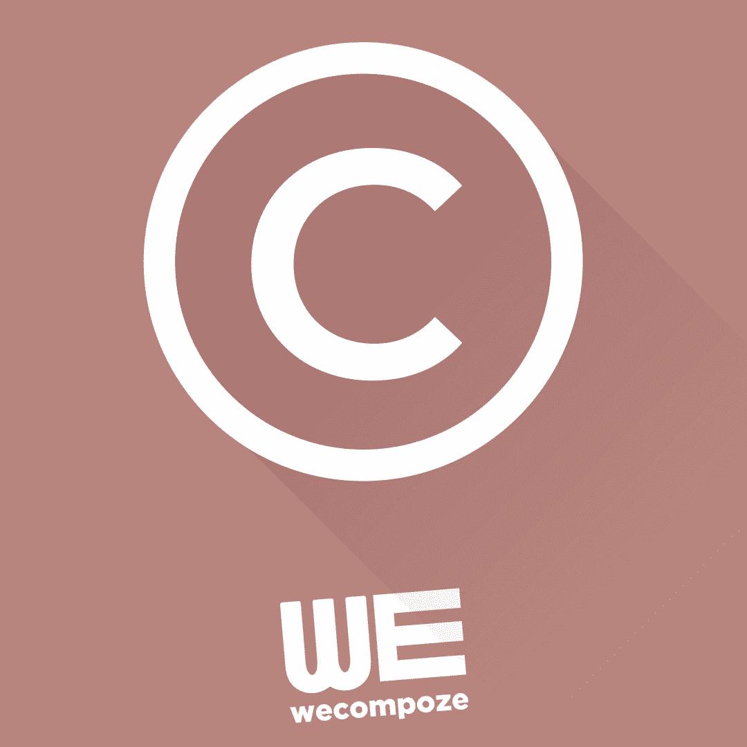 Droit d'auteur - WE COMPOZE